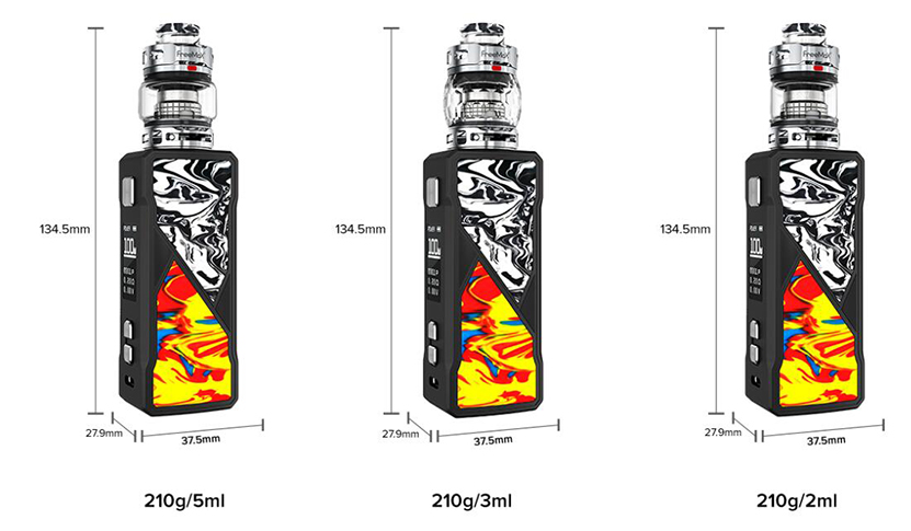 Freemax Maxus 100W Kit Feature 7