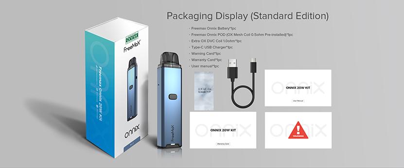 Freemax Onnix 20W Kit package