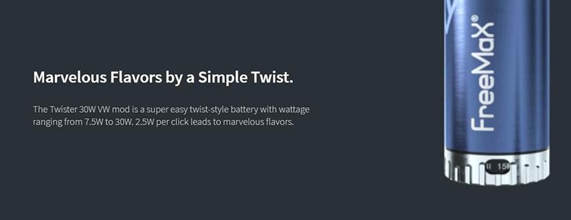 Freemax Twister 30W Kit Feature 9