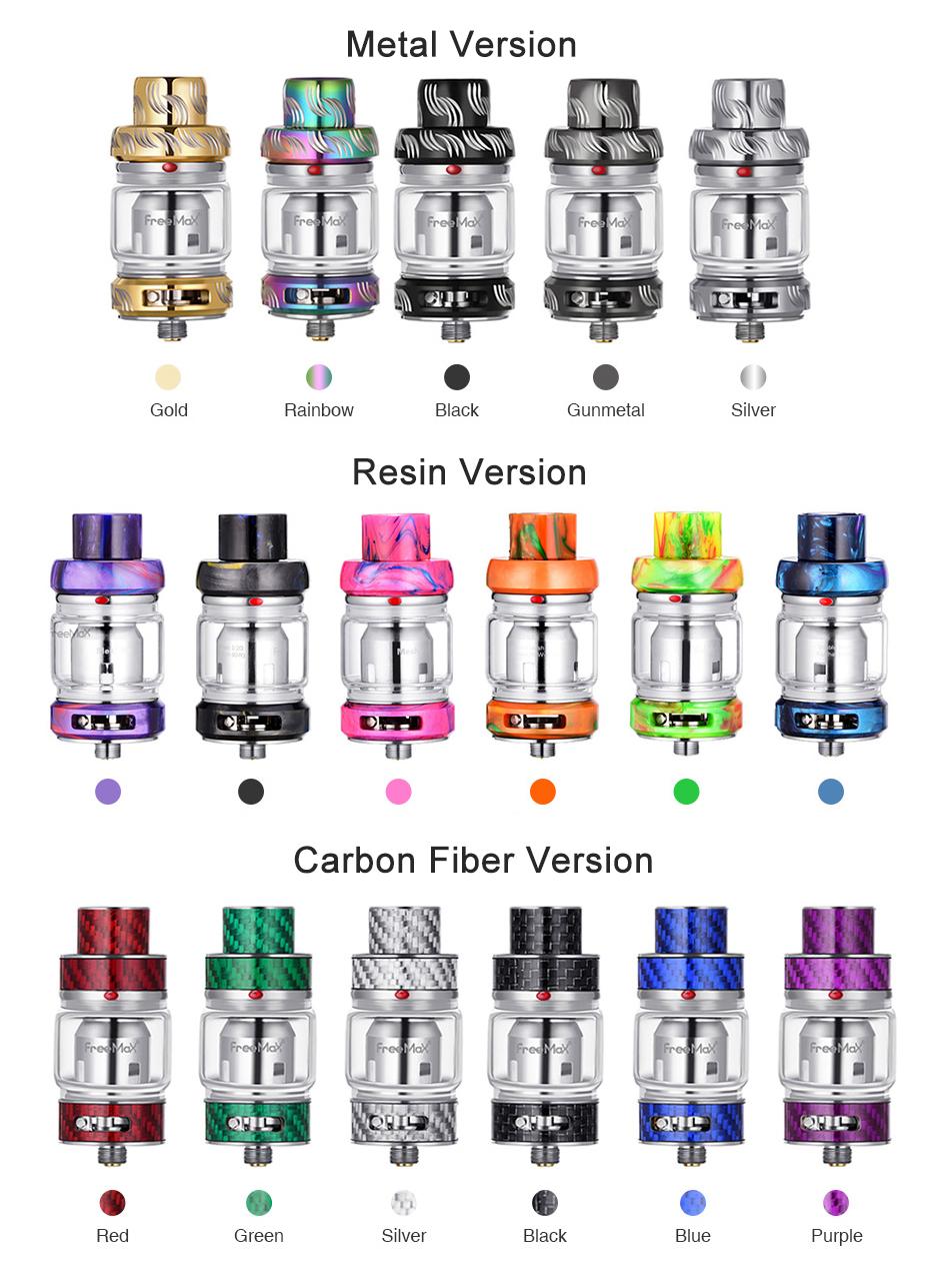 Freemax Mesh Pro Subohm Tank Colors