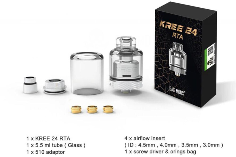 GAS MODS Kree 24 RTA Feature Package