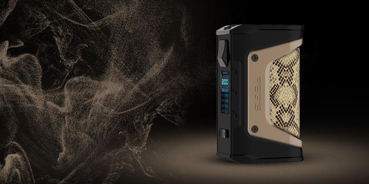 GeekVape Aegis Legend 200W Box Mod Features 6