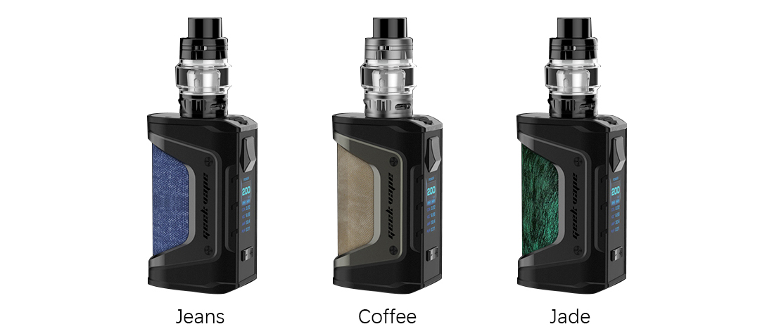 GeekVape Aegis Legend Kit with Alpha Tank New Colors - Colors