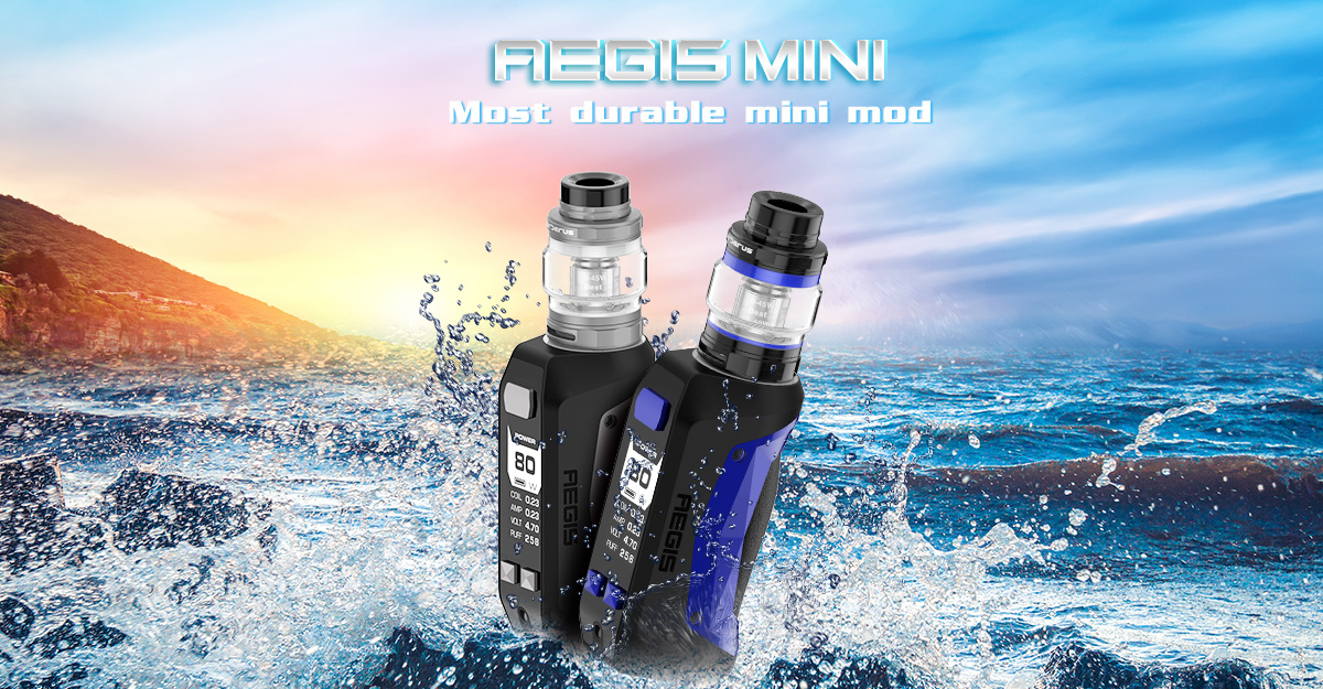 GeekVaep Aegis Mini Vape Starter Kit Features 1