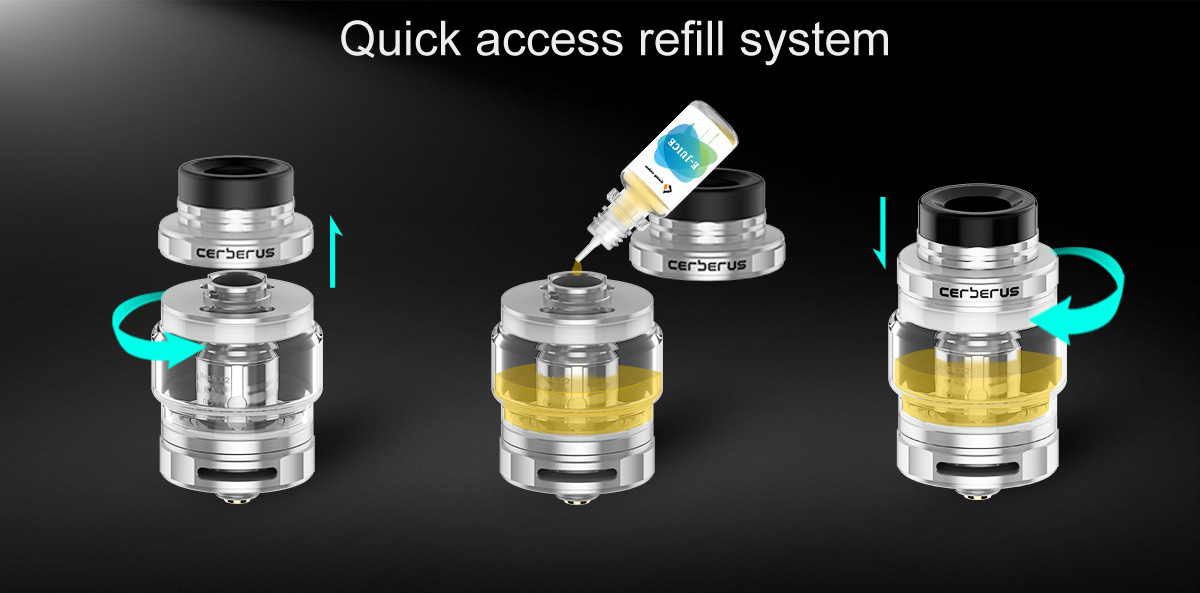 GeekVaep Aegis Mini Vape Starter Kit Features 7