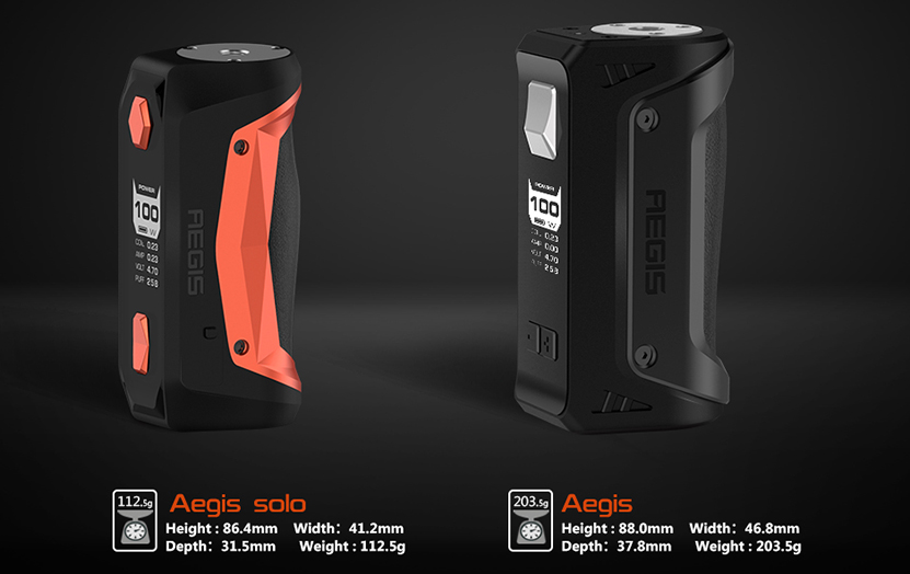Aegis Solo Vape Kit Features 01