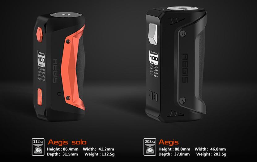 Aegis Solo Vape Kit Features 01
