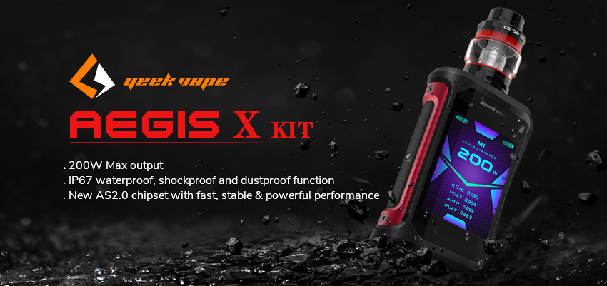 GeekVape Aegis X Kit Banner