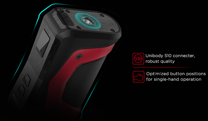 Aegis X 200W Box Mod Optimized Button