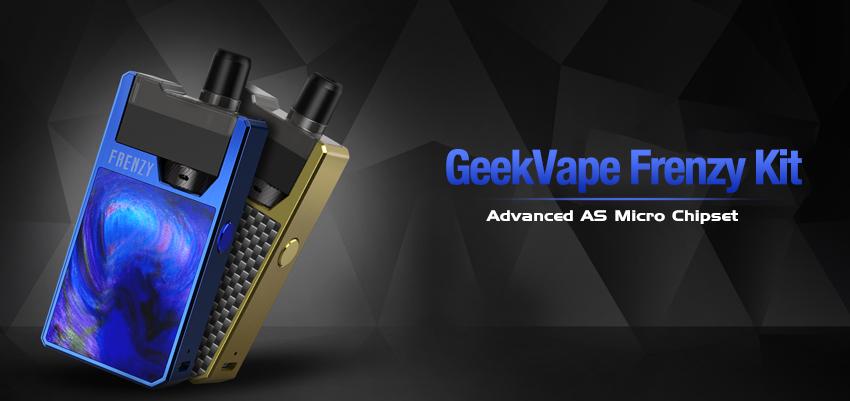 GeekVape Frenzy Kit Banner