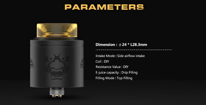 Tengu RDA Rebuildable Dripping Atomizer Features 08