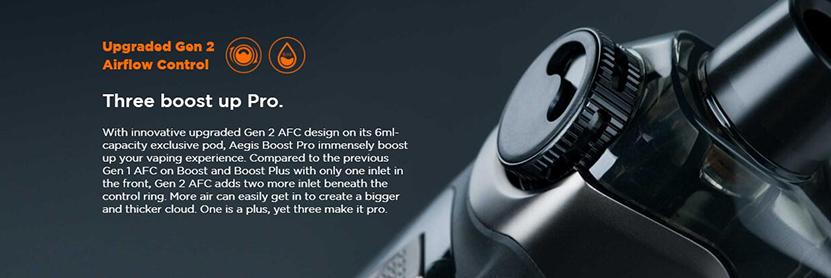 GeekVape Boost Pro Kit Feature 2
