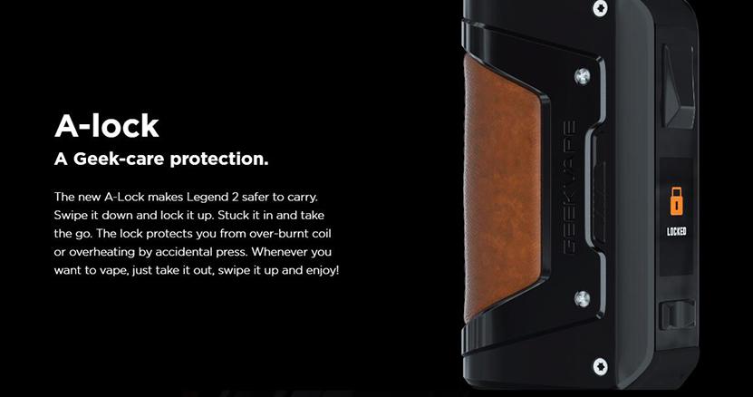Aegis Legend 2 Mod Lock Design