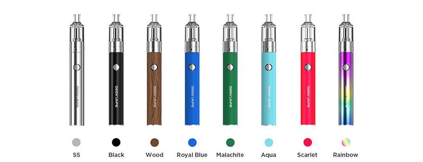 GeekVape G18 Pen Kit colors