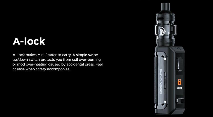 GeekVape Aegis Mini 2 Kit A-lock Design