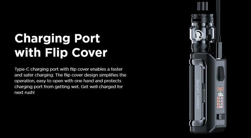 GeekVape M100 Kit Type-C Charging