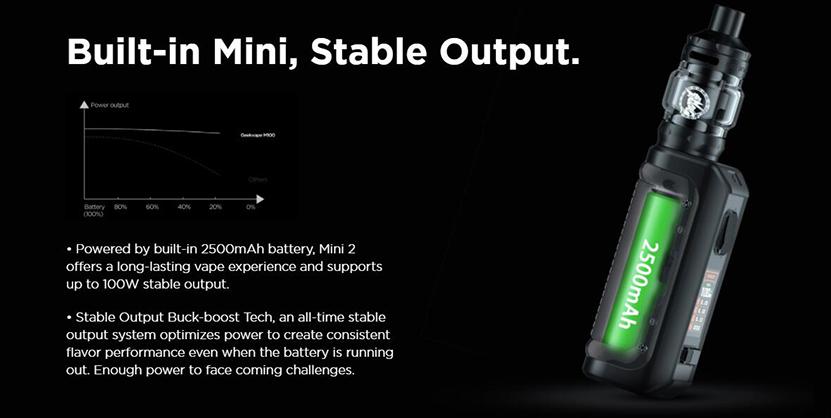 GeekVape Aegis Mini 2 Stable Output
