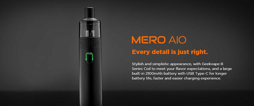 GeekVape Mero AIO Kit Feature 5