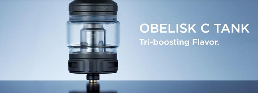 Obelisk C Tank Tri-boosting Flavor