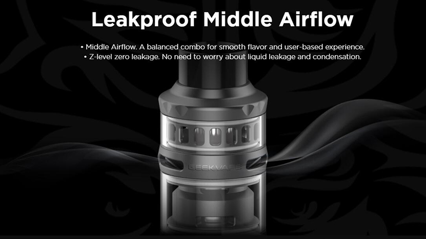 P Sub Ohm Tank Leakproof Middle Airflow