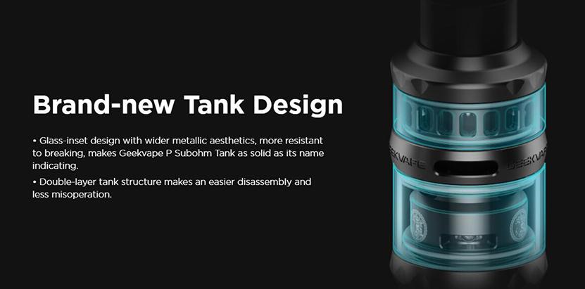 GeekVape P Sub Ohm Tank Designs