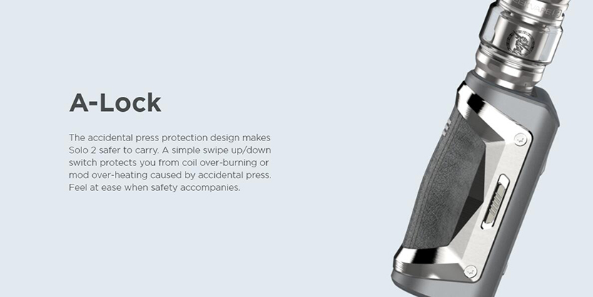 GeekVape Aegis Solo 2 Kit A-lock Design