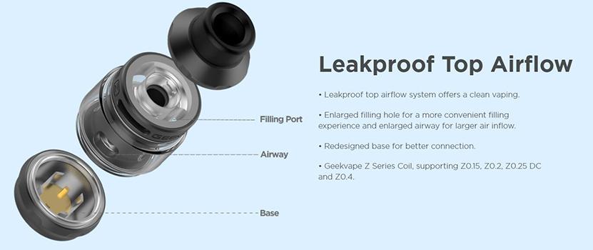 GeekVape S100 Aegis Solo 2 Kit Leakproof Top Airflow