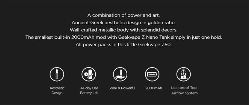 GeekVape Z50 Kit feature2