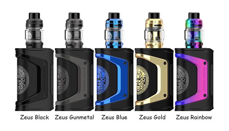 Geekvape Aegis Legend Kit com Zeus Tank Todas as Cores