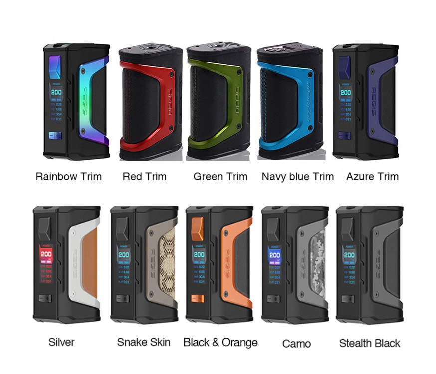 GeekVape Aegis Legend Mod All Colors