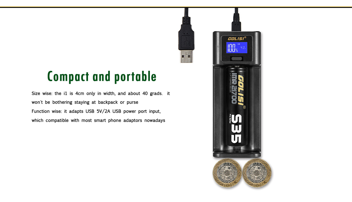 Golisi I1 Charger Features 2