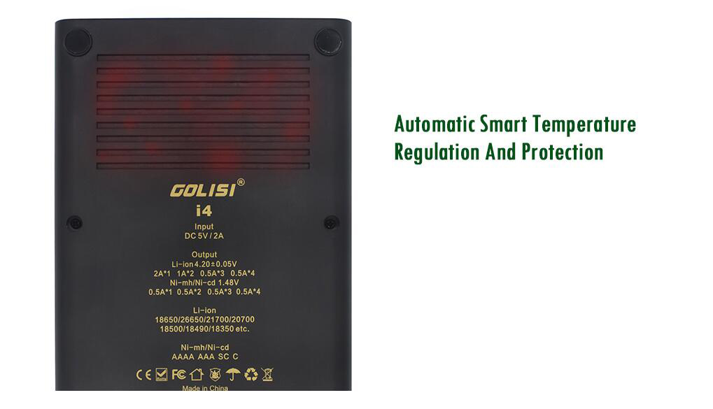 Golisi I4 Battery Features 4
