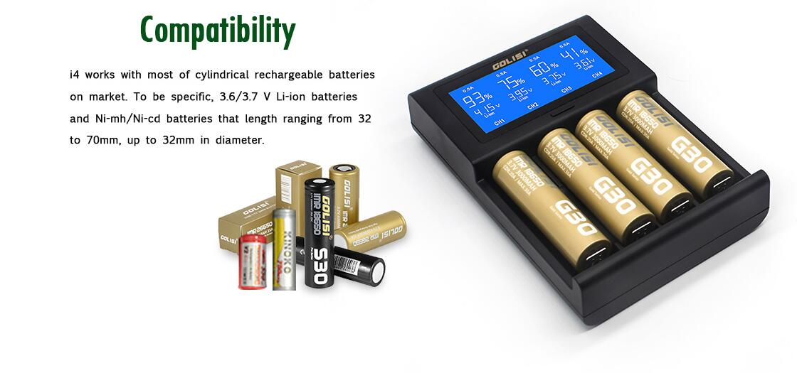 Golisi I4 Battery Features 5