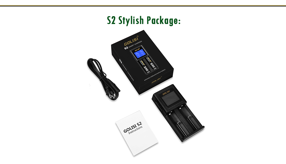 Golisi S2 Charger Package