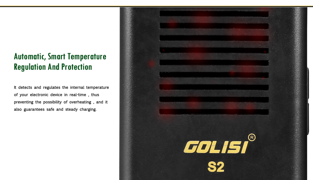 Golisi S2 Charger Protections