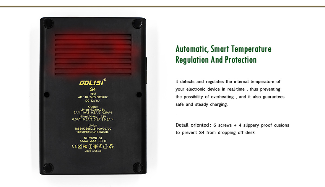 Golisi S4 Charger Protection