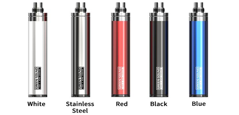 GreenSound GS eGo II Aero Battery Full Colors