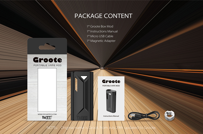 Groote Box Mod Package