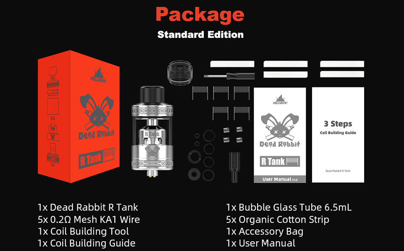 Hellvape Dead Rabbit R Tank Package