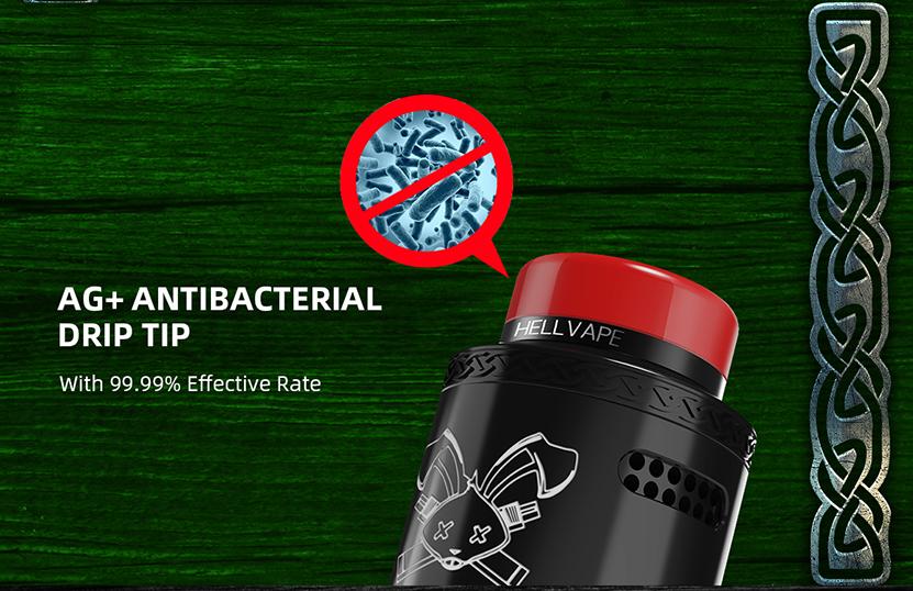 Hellvape Dead Rabbit V2 RDA Atomizer Antibacterial Dirp Tip