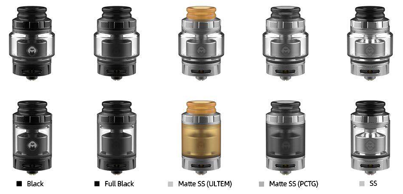 Destiny RTA Atomizer Colors