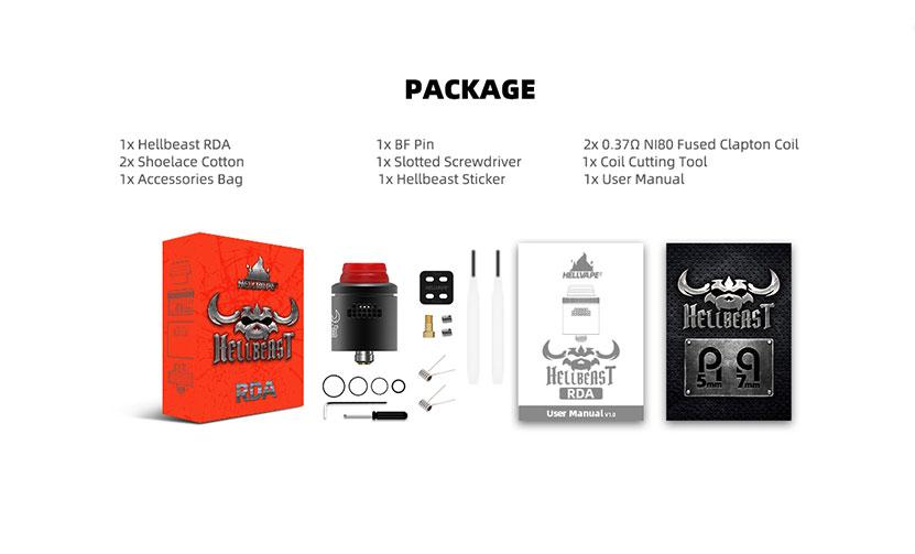Hellvape Hellbeast RDA Package