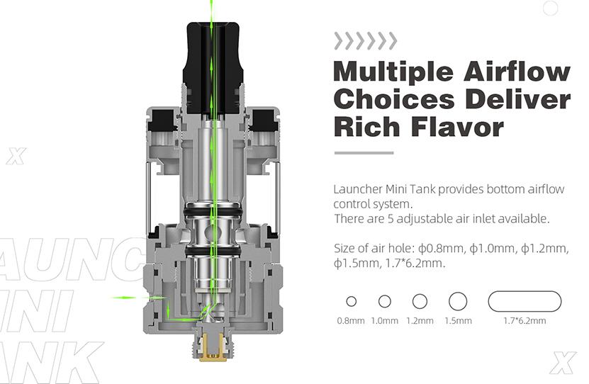 Hellvape Launcher Mini Tank Feature 1