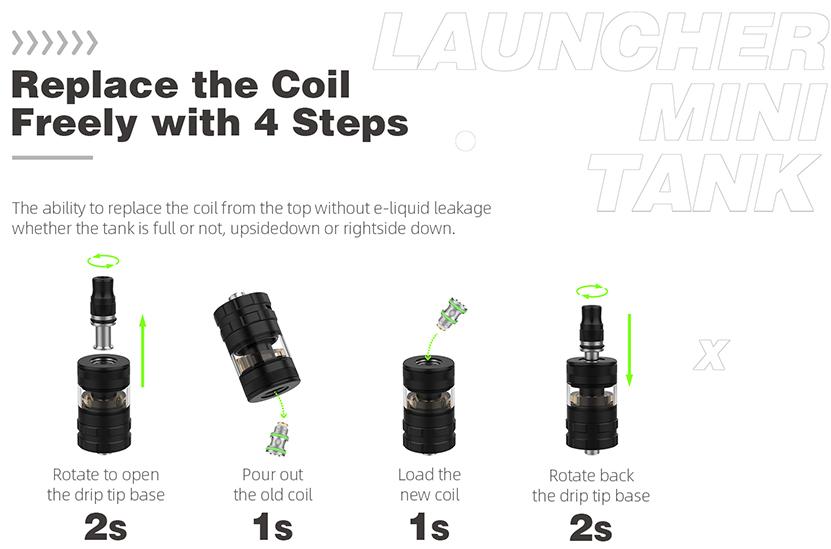Hellvape Launcher Mini Tank Feature 2