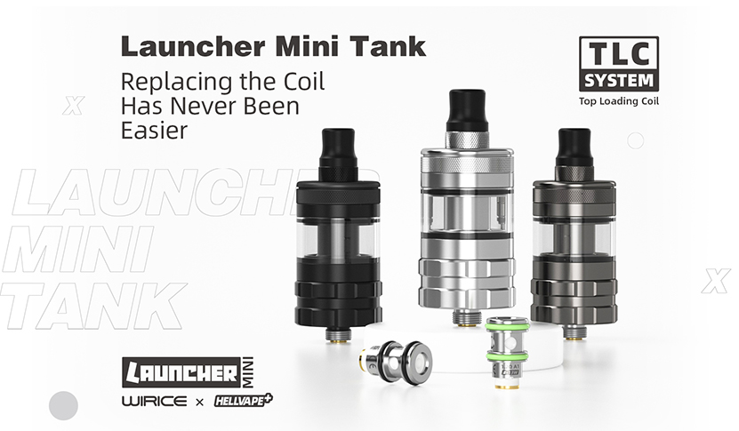 Hellvape Launcher Mini Tank Feature 4