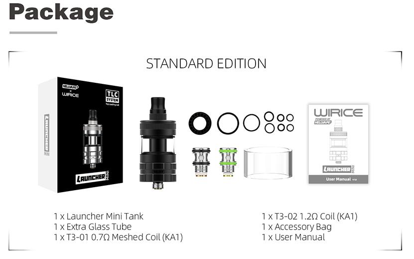 Hellvape Launcher Mini Tank Package