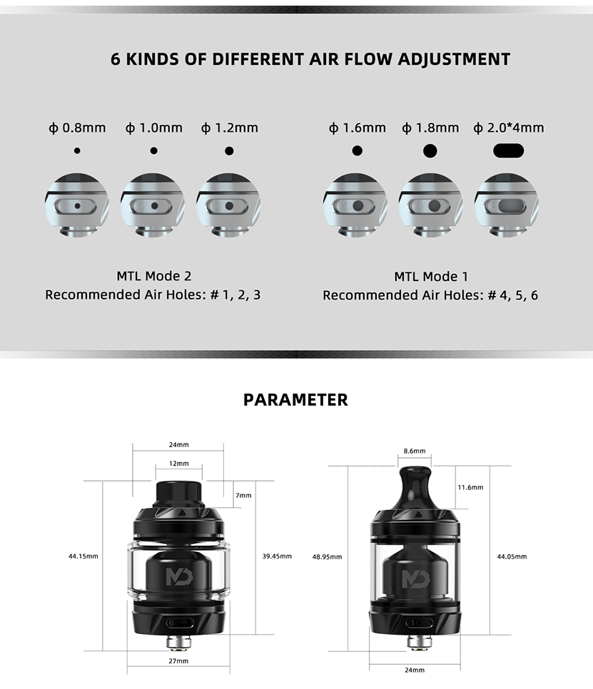 Hellvape MD RTA Features 3
