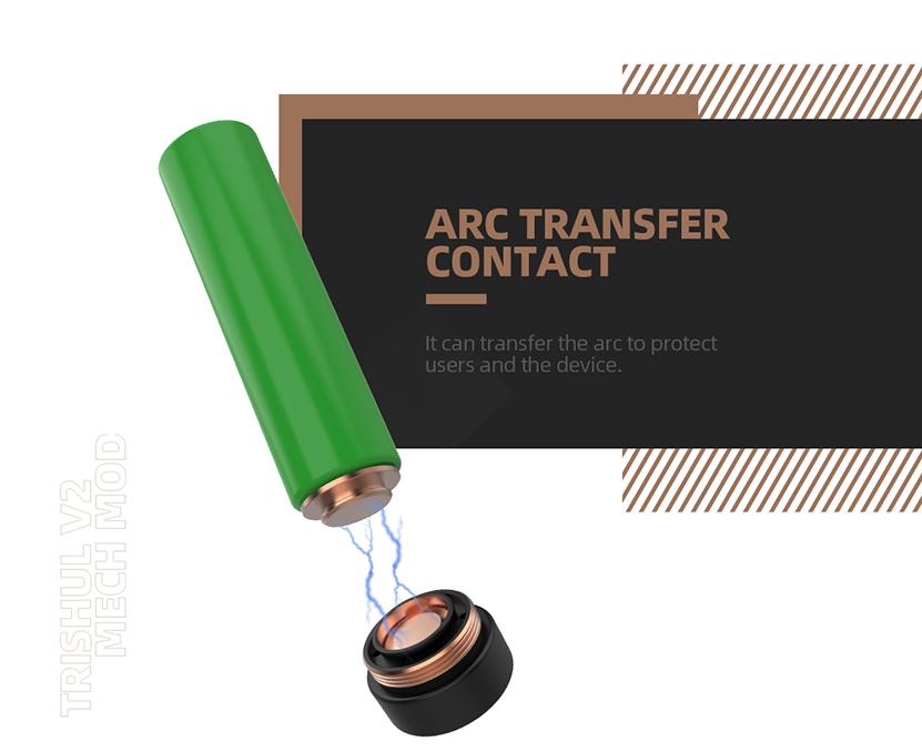 Hellvape Trishul V2 Mod ARC Transfer Contact