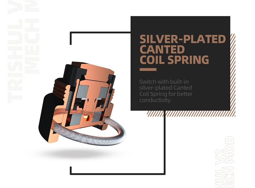 Trishul V2 Mech Mod Coil Spring