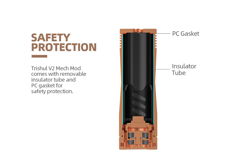 Trishul V2 Mech Mod Protections